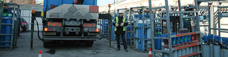 Gas Cylinder Handling| myGAS | Air Liquide