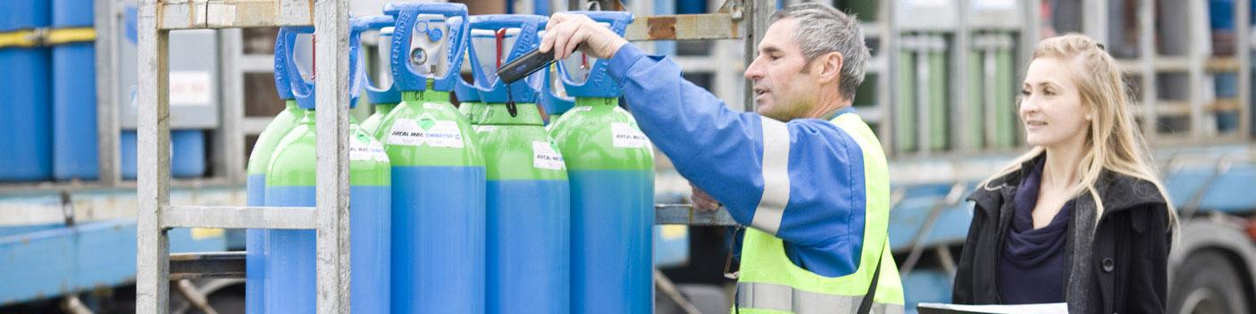 Flaskspårning | myGAS | Air Liquide