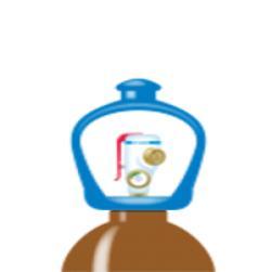 alphagaz™ 1 helium flaska smartop l50