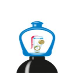 alphagaz™ 1 nitrogen flaska smartop l50