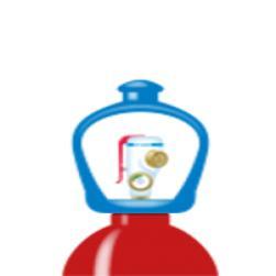 alphagaz™ 1 hydrogen flaska smartop l50